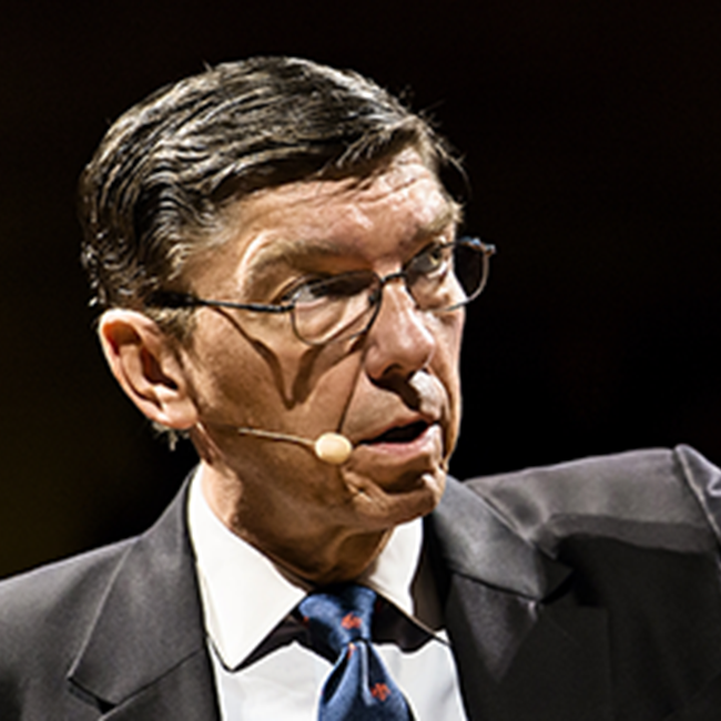 Thought leader Clayton Christensen on disruption