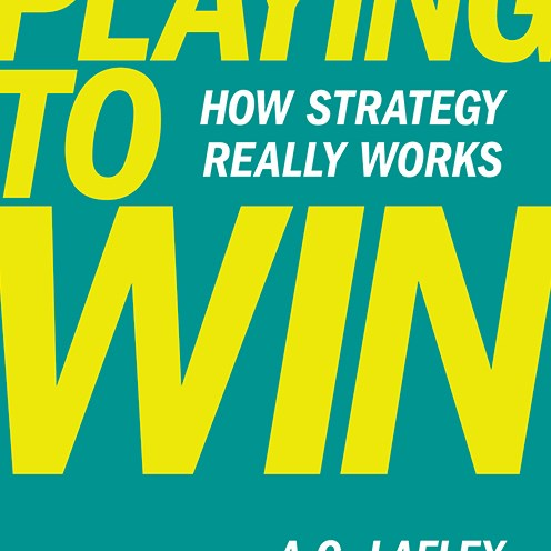 Playing to Win by Roger Martin
