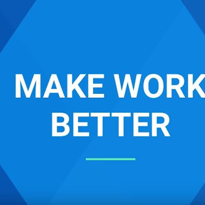 Make Work Better - Prasad Setty, Google People Analytics & Compensation