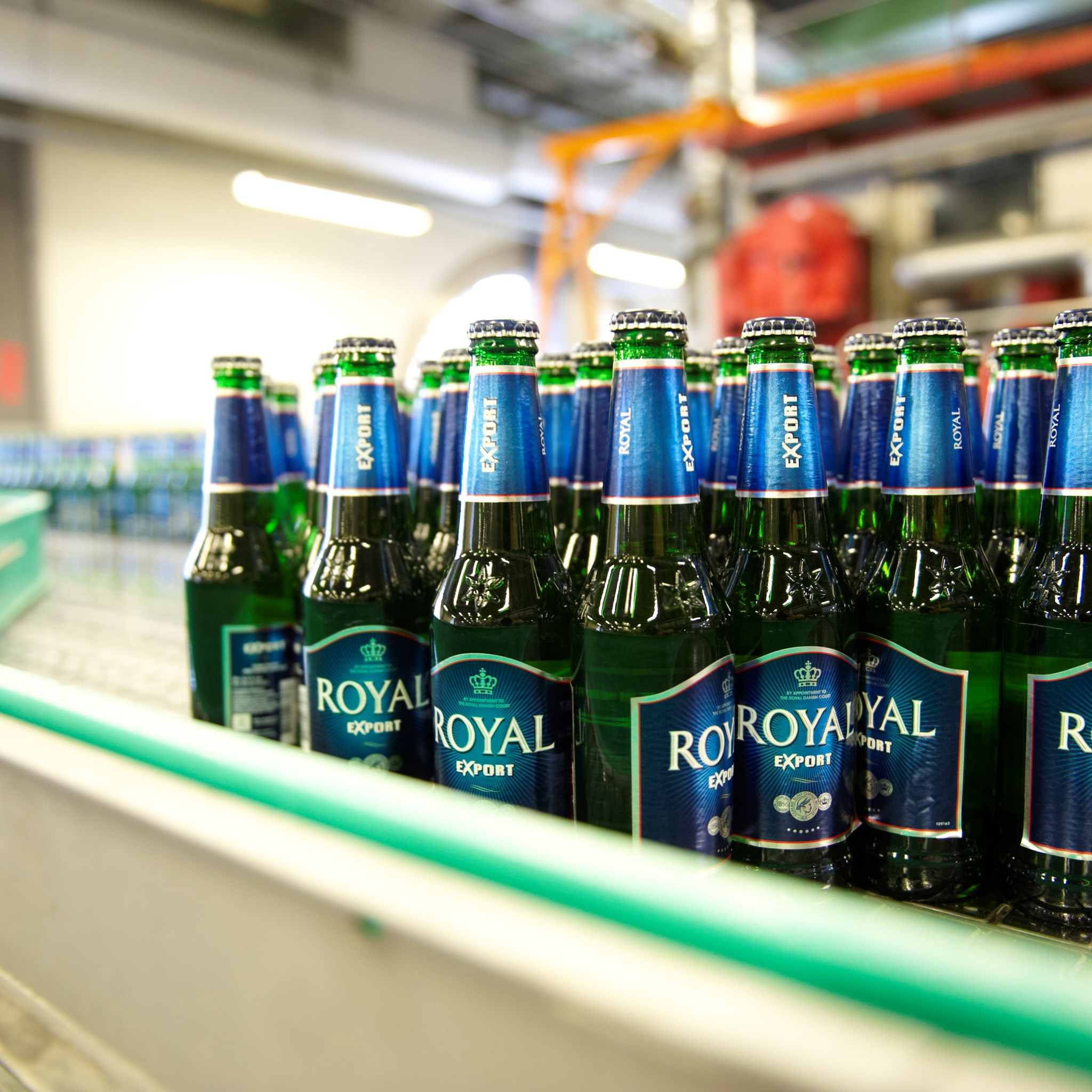 Client case with Royal Unibrew