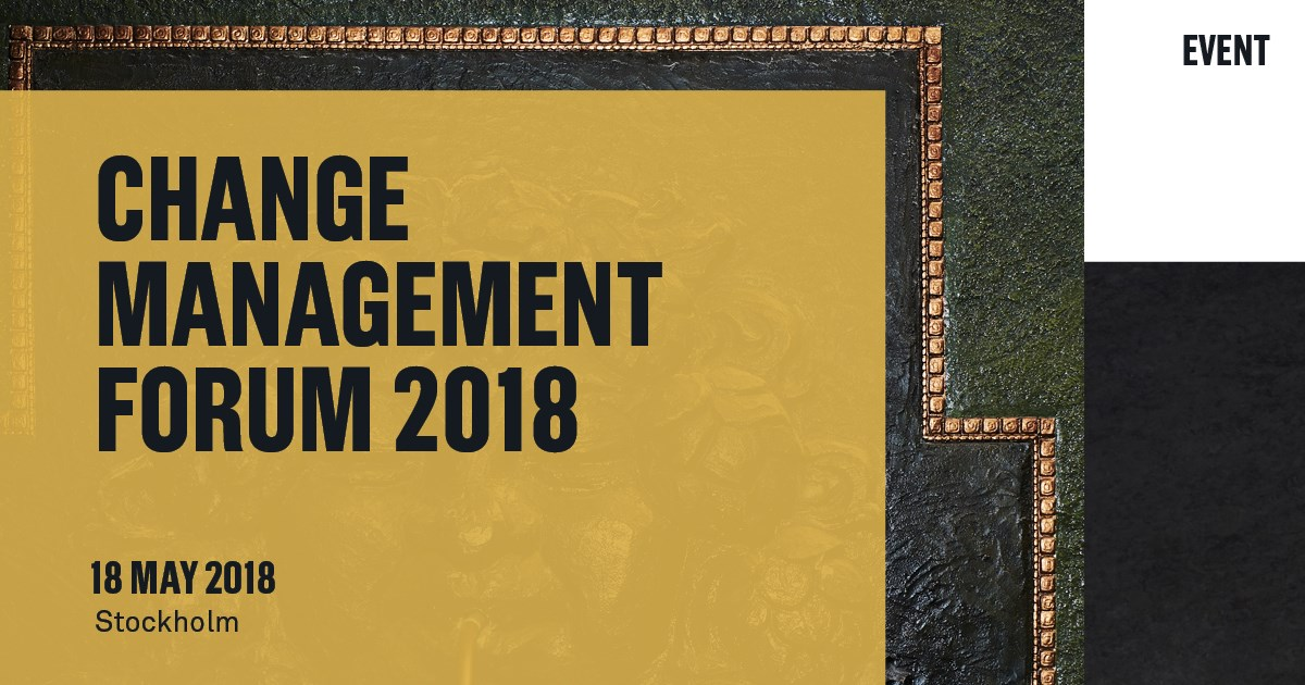 Change Management Forum 2018