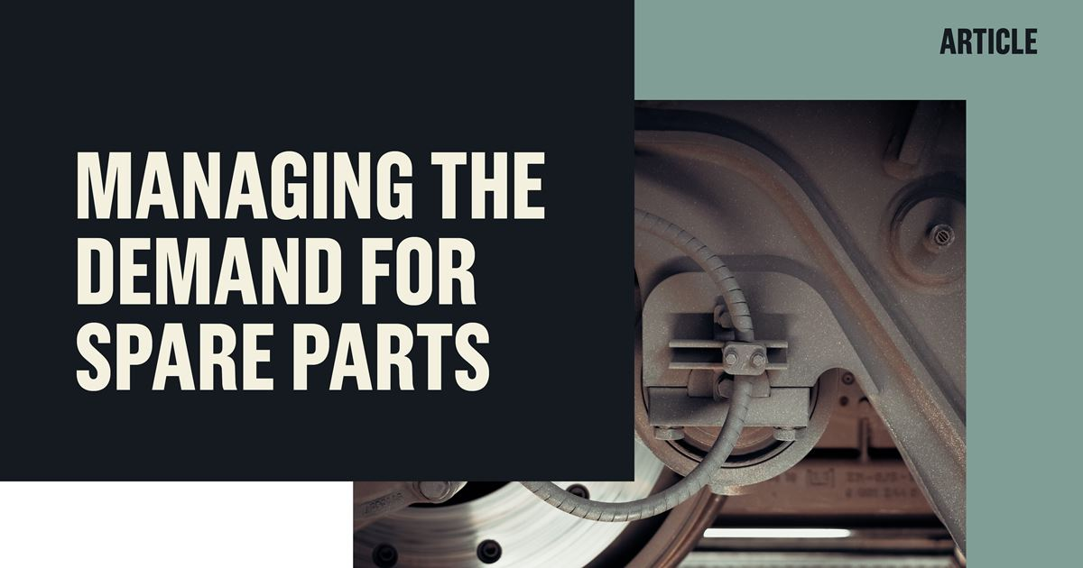 Managing the demand for spare parts | Implement Consulting Group