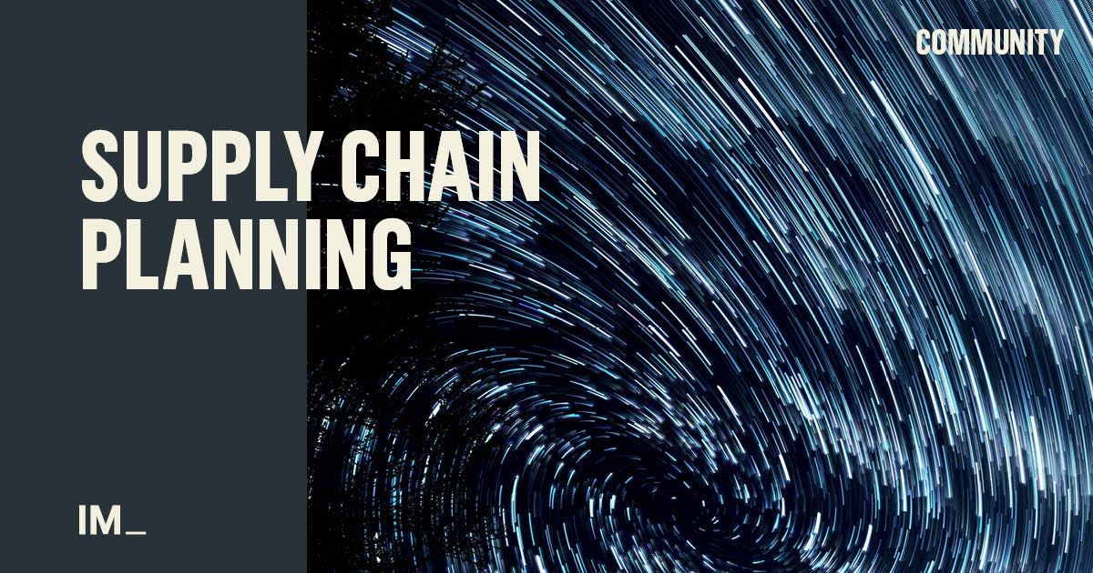 Supply Chain Planning | Implement Consulting Group