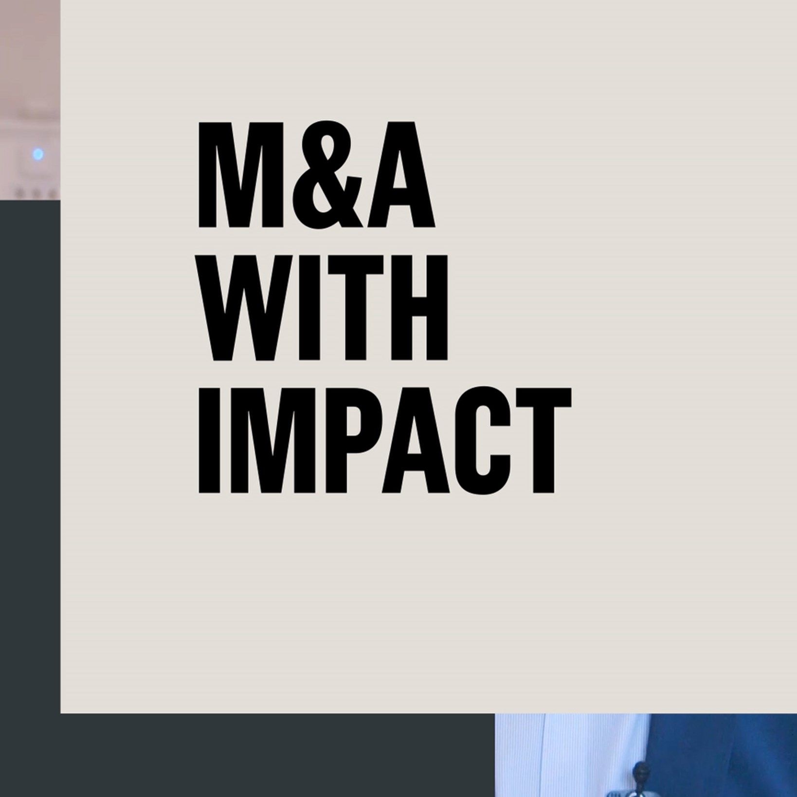 M&A with Impact