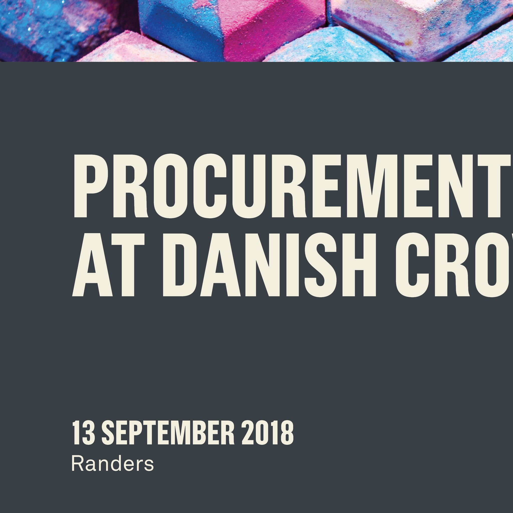 An inspiring day with focus on procurement processes