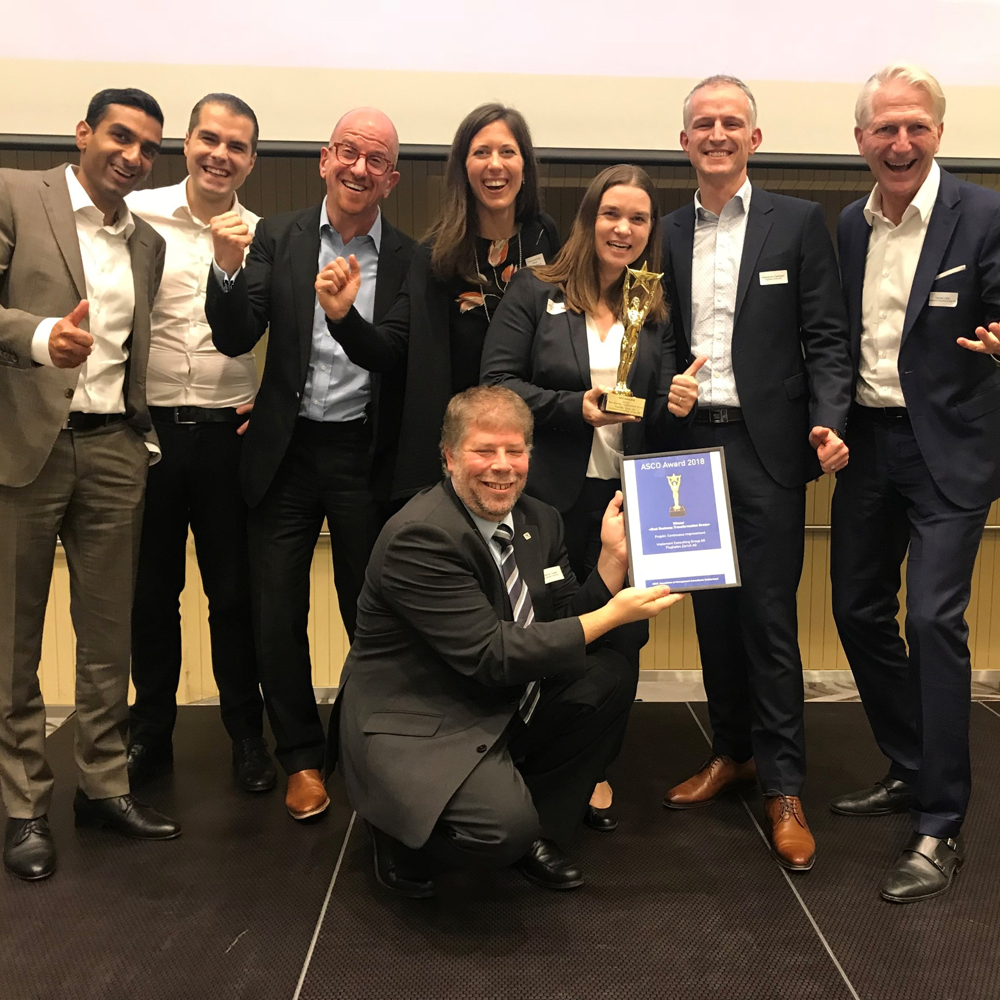 Implement wins prestigious Swiss consulting award.