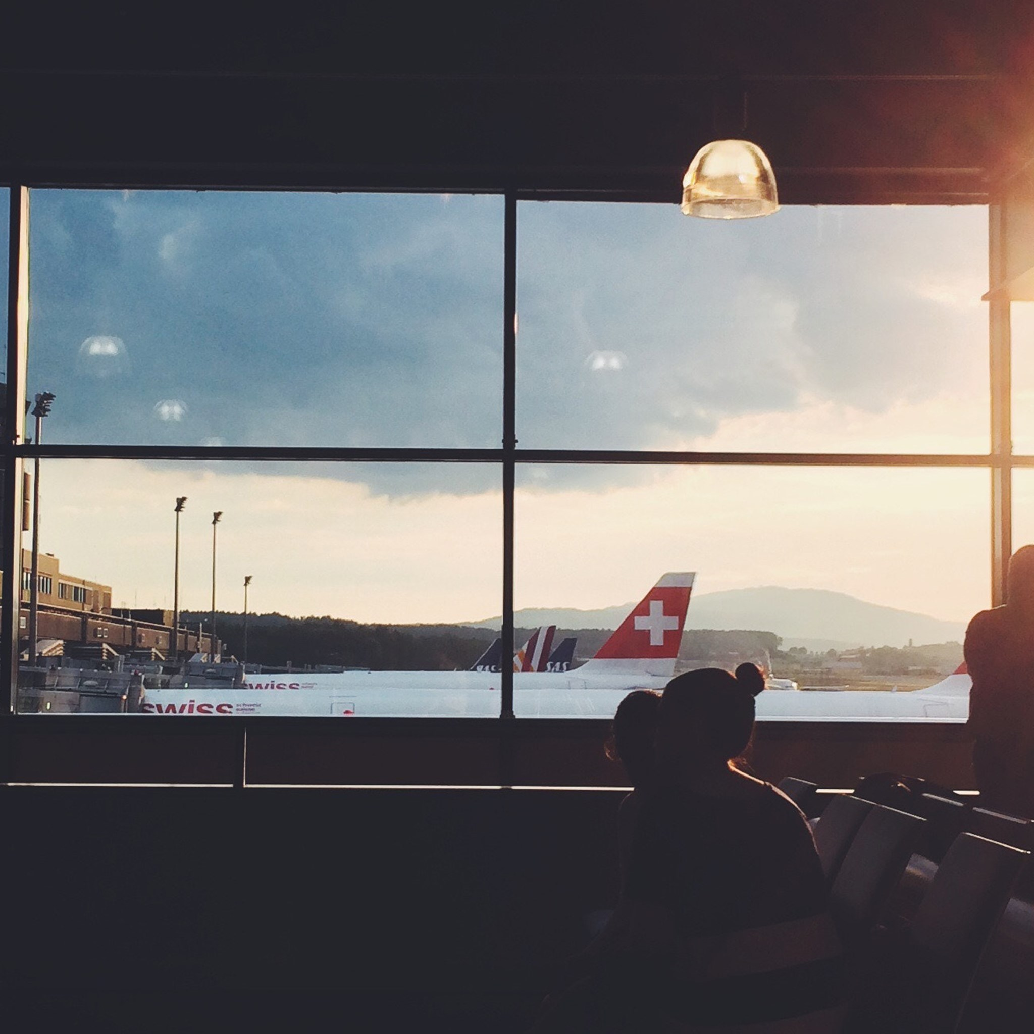 Zurich Airport. Photo by Philipp Dubach on Unsplash.