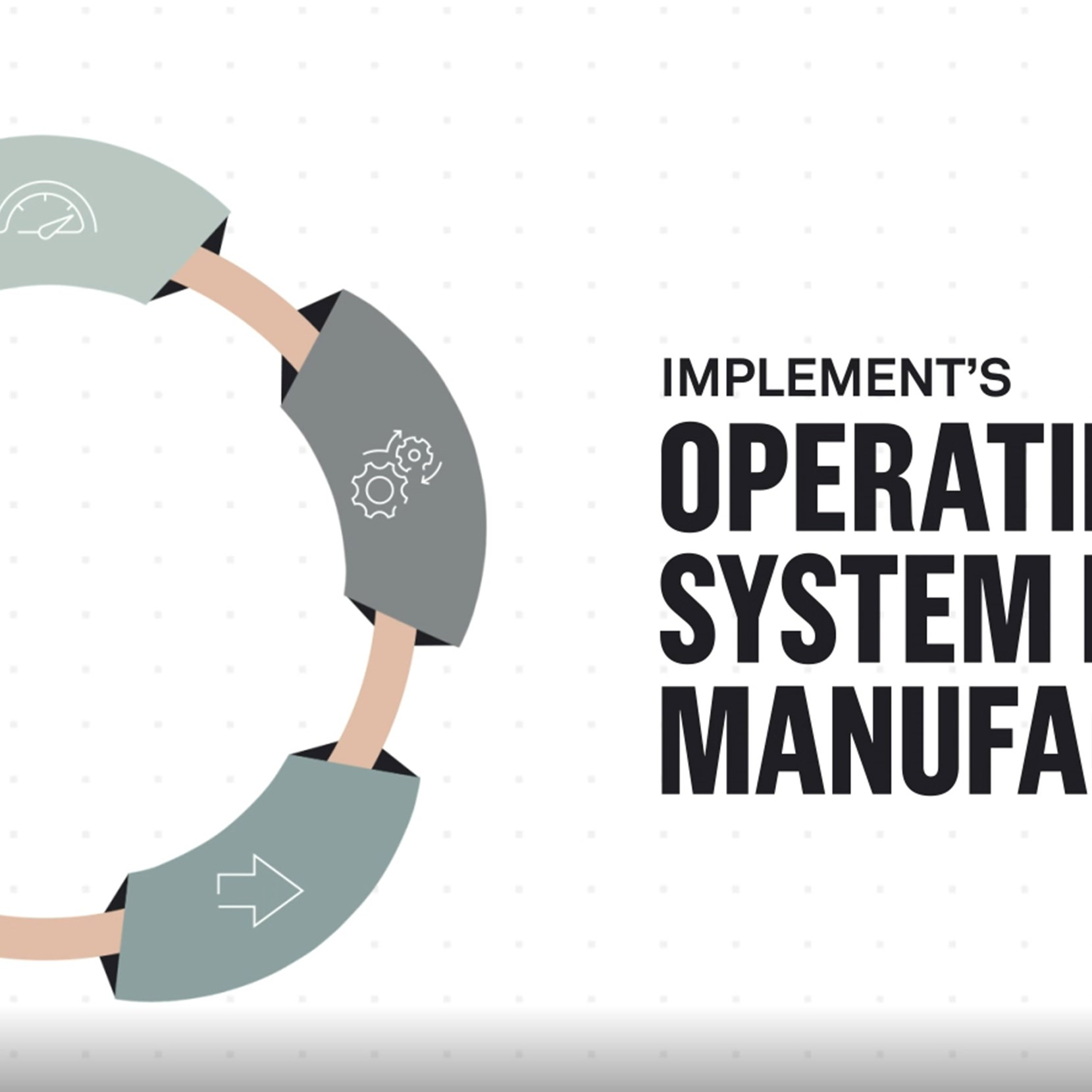 Operating system for manufacturing