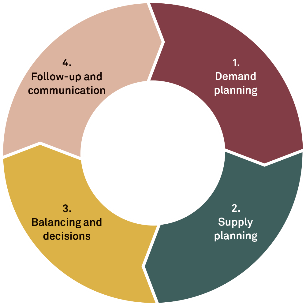 The wheel of Integrated Business Planning