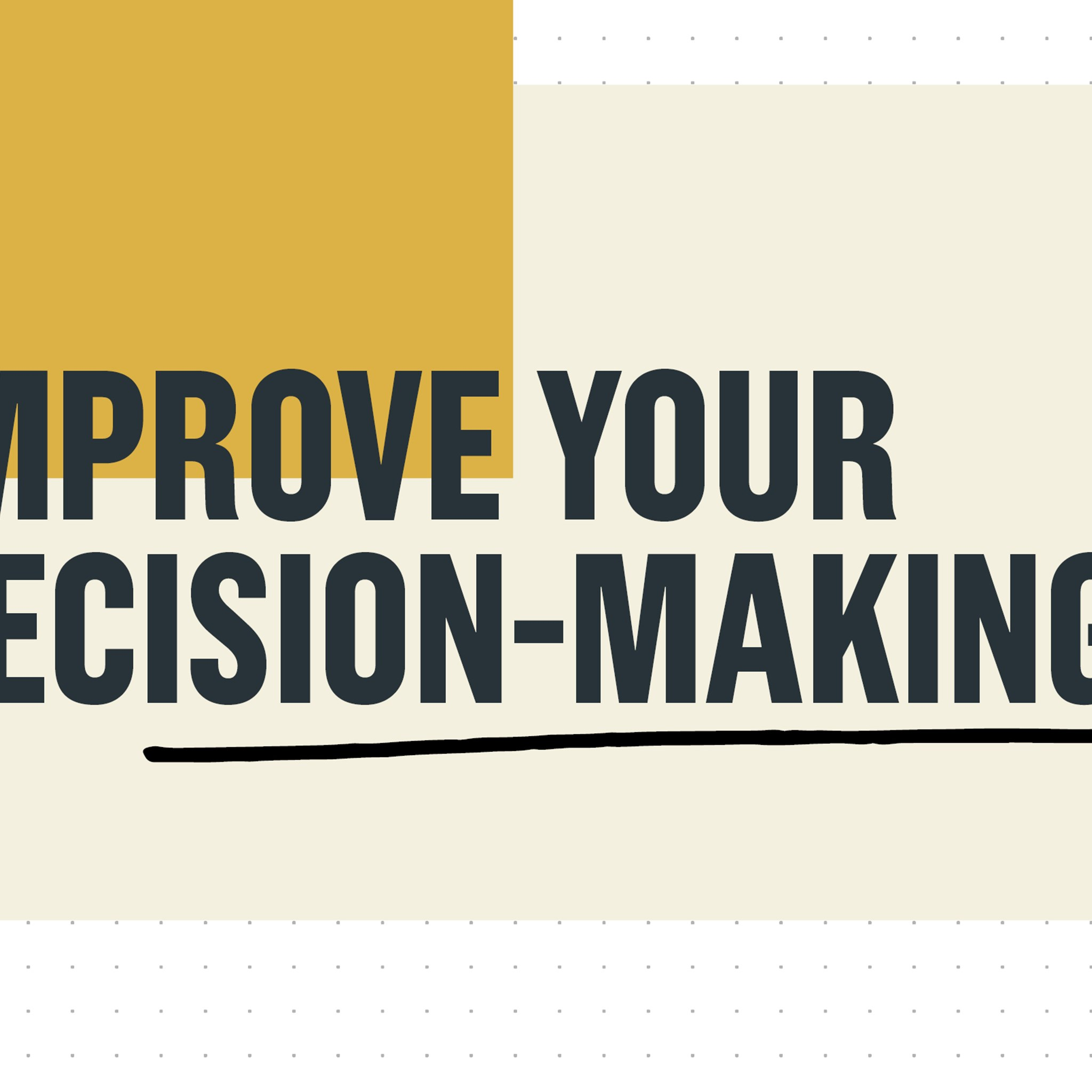 Steer and improve your company's decision-making process