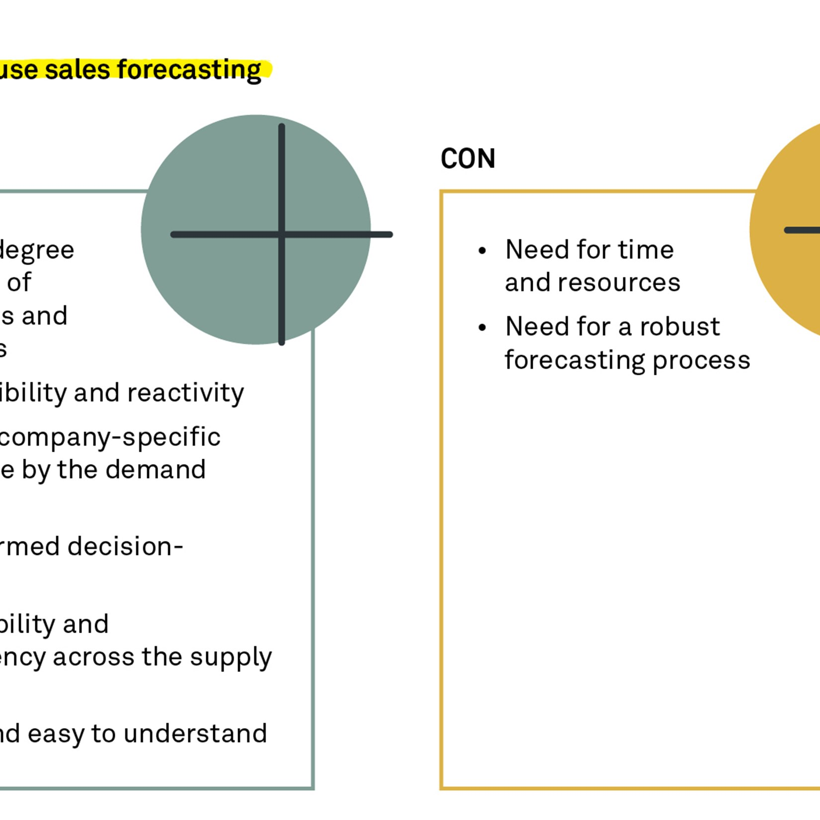 Simple forecasting brings robust accuracy and control to your forecasting process